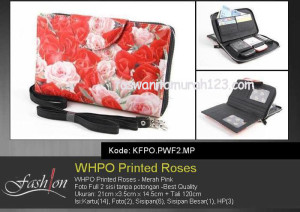 WHPO Flower Printed Roses