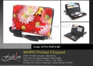 WHPO Flower Printed Crysant