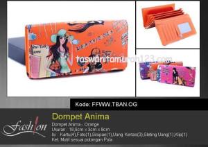 Dompet Wanita Murah Anima Orange