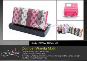 Dompet Wanita Murah Motif Merah Pink