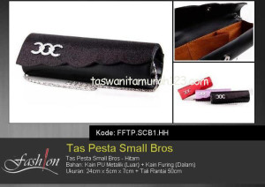 Tas Pesta Murah Small Bros Hitam