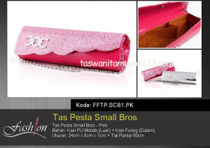 Tas Pesta Murah Small Bros Pink