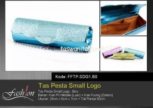 Tas Pesta Murah Small Logo Biru