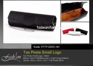 Tas Pesta Murah Small Logo Hitam