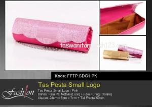 Tas Pesta Murah Small Logo Pink