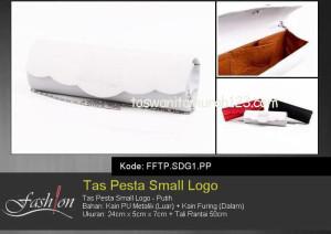 Tas Pesta Murah Small Logo Putih