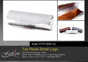 Tas Pesta Murah Small Logo Silver