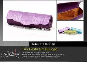 Tas Pesta Murah Small Logo Ungu