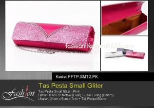 Tas Pesta Murah Small Gliter Pink