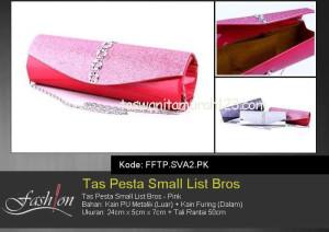 Tas Pesta Murah Small Circle List Bros Pink