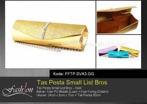 Tas Pesta Murah Small List Bros Gold