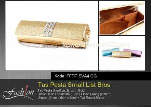 Tas Pesta Murah Small List Bros 2 Gold