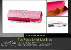 Tas Pesta Murah Small List Bros 2 Pink