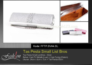 Tas Pesta Murah Small List Bros 2 Silver