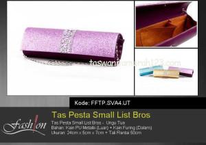 Tas Pesta Murah Small List Bros 2 Ungu