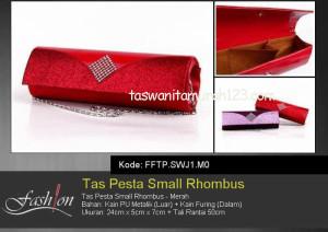 Tas Pesta Murah Small Rhombus Merah