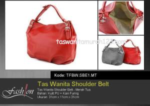 Tas Wanita Murah Shoulder Belt 2 Merah