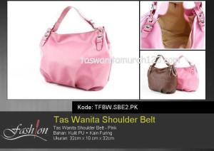 Tas Wanita Murah Shoulder Belt 2 Pink