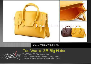 Tas Wanita Murah ZR Big Hobo Kuning