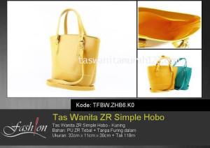 Tas Wanita Murah ZR Simple Hobo Kuning