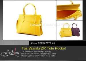 Tas Waita Murah ZR Tote Pocket Kuning