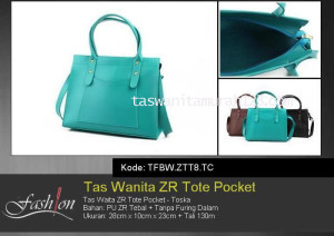 Tas Waita Murah ZR Tote Pocket Toska