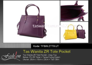 Tas Waita Murah ZR Tote Pocket Ungu
