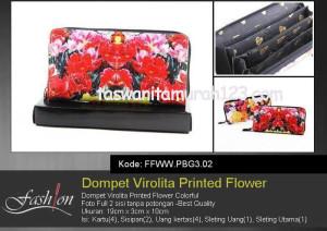 Dompet Wanita Murah Virolita Printed Flower 02
