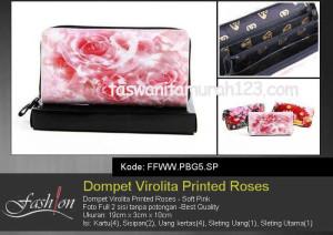 Dompet Wanita Murah Virolita Printed Flower SP