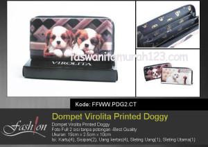 Dompet Wanita Murah Printed Doggy  CT
