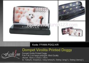 Dompet Wanita Murah Printed Doggy KR