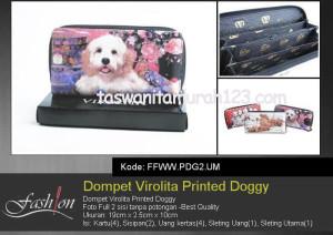 Dompet Wanita Murah Printed Doggy UM
