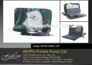Dompet Wanita WHPO Printed Cute Pets HT