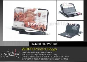 Dompet Wanita WHPO Printed Cute Pets KC