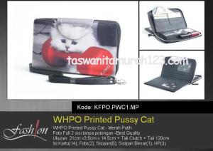 Dompet Wanita WHPO Printed Cute Pets PWC1 MP