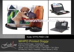 Dompet Wanita WHPO Printed Cute Pets PWC1 CM