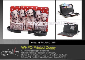 Dompet Wanita WHPO Printed Cute Pets PWD1 MP