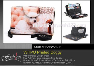 Dompet Wanita WHPO Printed Cute Pets PWD1 PP