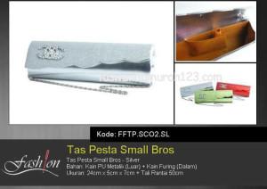 Tas Pesta Murah Small Bros SCO2 Silver