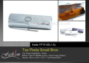 Tas Pesta Murah Small Bros SEL1 Silver