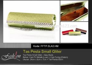 Tas Pesta Murah Small Gliter  SLA2 Hijau Muda