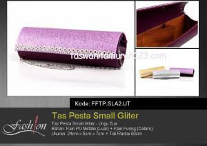 Tas Pesta Murah Small Gliter  SLA2 Ungu