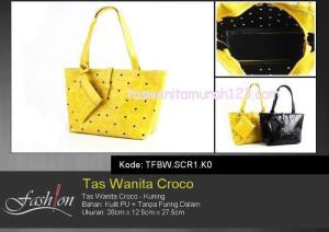 Tas Wanita Murah Croco Kuning