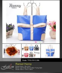 tas wanita murah dan cantik tfkv-rv12-bk